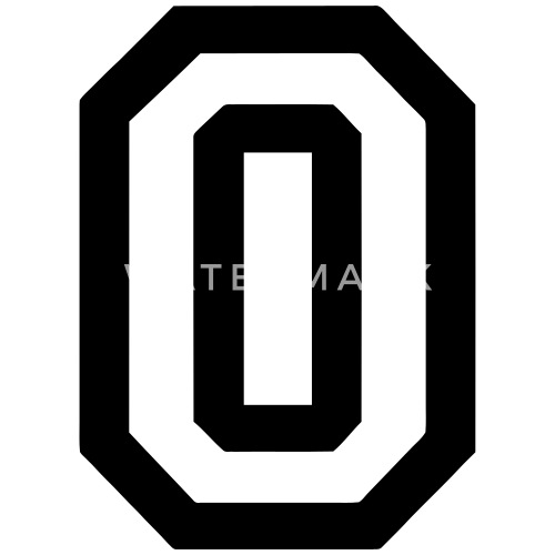 letter o by deltico spreadshirt