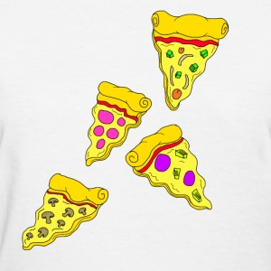 Funky Pizza's - Women's T-Shirt