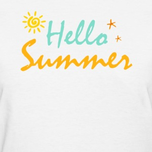 HELLO SUMMER - Women's T-Shirt