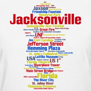 Jacksonville (Florida, USA, The River City) - Women's T-Shirt