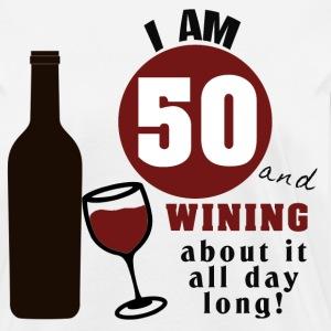 50th Birthday Wine Funny By Socialspeak