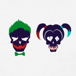 Harley quinn and Joker from suicide squad - Women's T-Shirt
