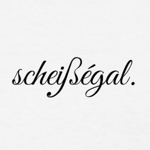 scheissegal BLACK - Women's T-Shirt