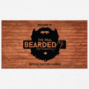 beardedme banner - Women's T-Shirt