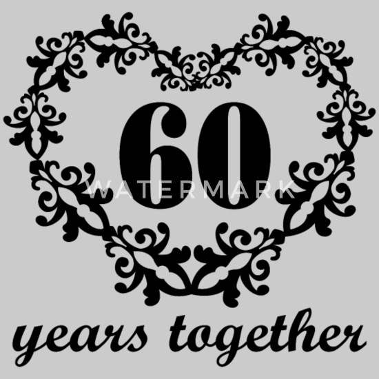 60th Anniversary Gift Couples 60 Years