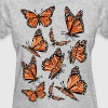 Geometric Monarch Butterfly  - Women's T-Shirt