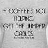 JUMPER CABLES FUNNY - Women's T-Shirt