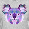 geometric koala  - Women's T-Shirt