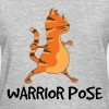Yoga Cat - Warrior pose - Women's T-Shirt