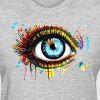 watercolor eye - Women's T-Shirt