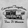 Camping Together 25 Years - Women's T-Shirt