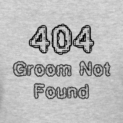 404 Groom not found - Women's T-Shirt