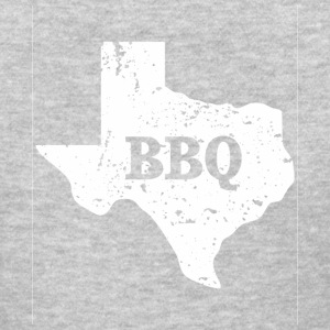 White Texas State Shape BBQ