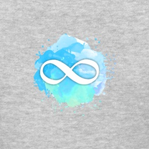 Infinity Symbol Creative Paint back Design