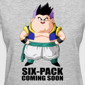 super saiyan gotenk six-pack coming soon - Women's T-Shirt
