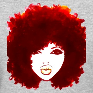 Natural Hair Curly Hair Autumn Afro Tshirt Tees - Women's T-Shirt