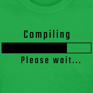 Compiling - Please wait - Women's T-Shirt