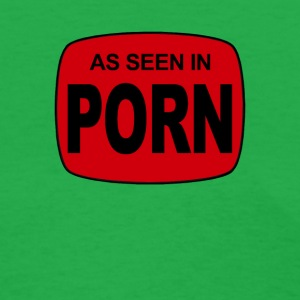 As Seen in Porn Mens Blue Movies - Women's T-Shirt