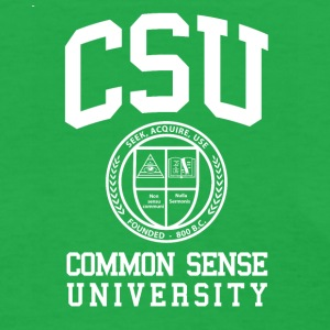 Common Sense Black T-Shirts - Women's T-Shirt