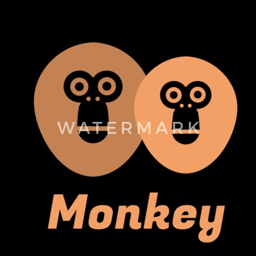Monkey Animal Gift Banana Zoo Jungle By Shirtrobot89 Spreadshirt