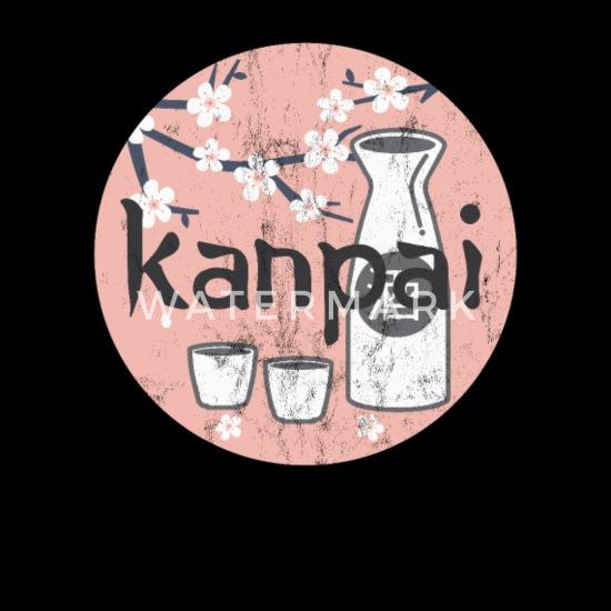 Women/'s Japanese Sake Poster Vintage Print Cotton Tank Top