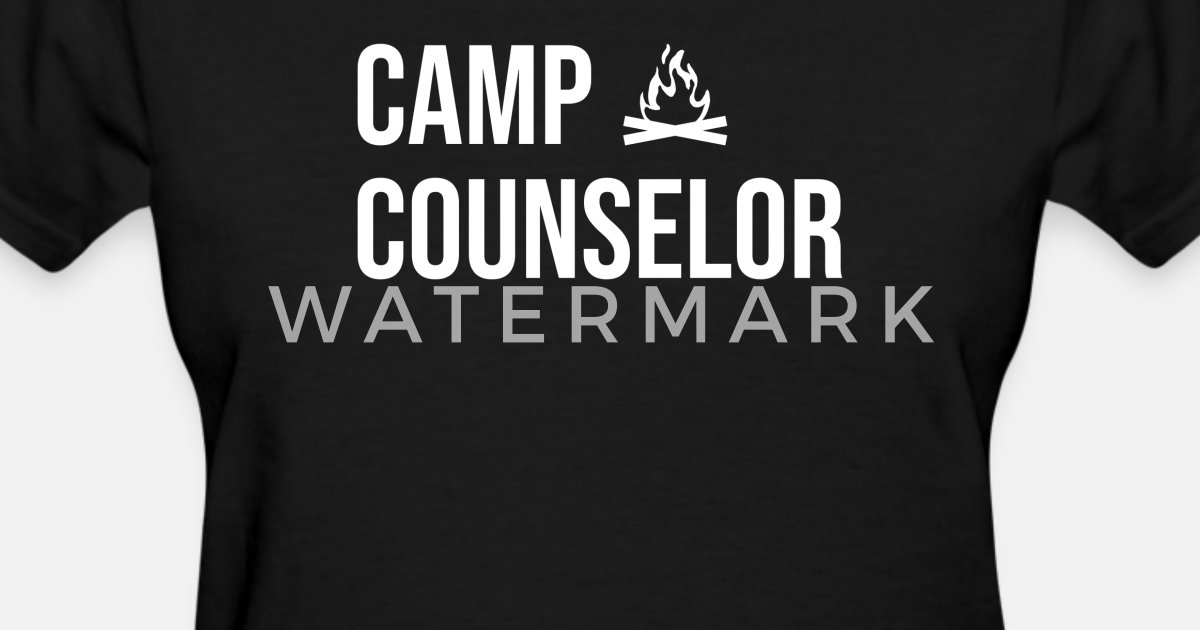 e261d930577e Funny Camp Counselor Camping Campfire Beer Camper Women s T-Shirt ...
