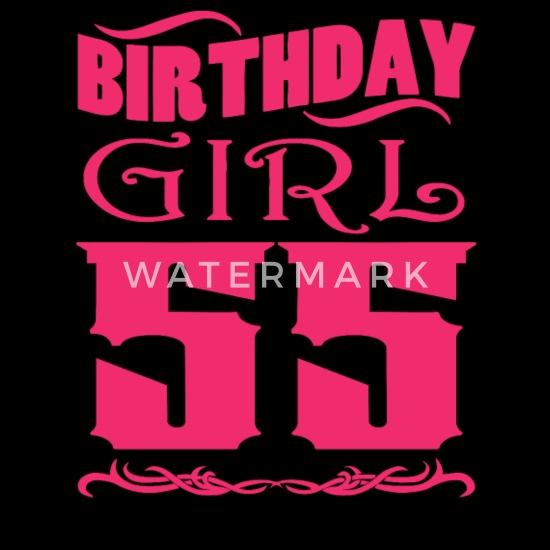 Welp Birthday Girl 55 years old Women's T-Shirt | Spreadshirt FG-13