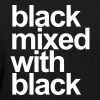 Black mixed with black - Women's T-Shirt