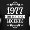 1977 - The Birth Of Legends - Women's T-Shirt