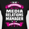 Media Relations Manager - Women's T-Shirt