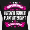 Wastewater Treatment Plant Attendant - Women's T-Shirt