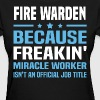 Fire Warden - Women's T-Shirt
