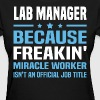 Lab Manager - Women's T-Shirt
