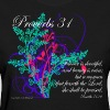 Proverbs 31 Virtuous Woman T-Shirt Design - Women's T-Shirt