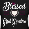 BLESSED GREAT GRANDMA - Women's T-Shirt