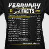 February Girl Facts Aquarius - Women's T-Shirt