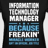 Information Technology Manager - Women's T-Shirt