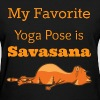 Yoga Cat My Favorite Yoga - Women's T-Shirt