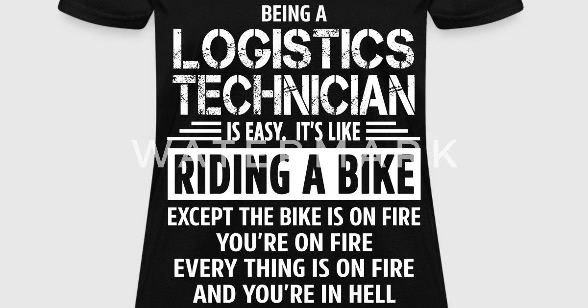 Logistics Technician by bushking   Spreadshirt