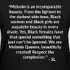 Melanin Quotes T shirt - Women's T-Shirt