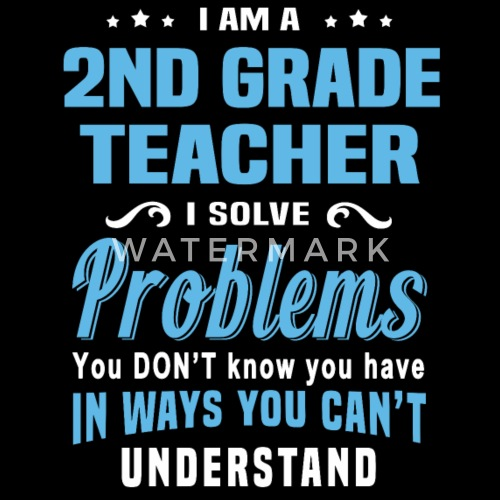 2nd Grade Teacher Womens T Shirt