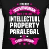 Intellectual Property Paralegal - Women's T-Shirt