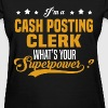 Cash Posting Clerk - Women's T-Shirt