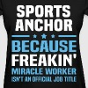 Sports Anchor - Women's T-Shirt