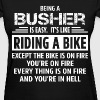 Busher - Women's T-Shirt