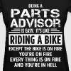 Parts Advisor - Women's T-Shirt