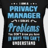 Privacy Manager - Women's T-Shirt