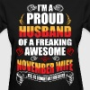 I'm A Proud Husband of a Freaking Awesome November - Women's T-Shirt