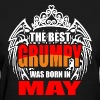 The Best Grumpy was Born in May - Women's T-Shirt
