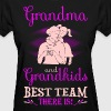 Grandma And Grandkids Best Team There Is Tshirt - Women's T-Shirt